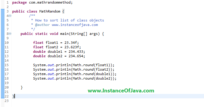 23 Java Design Patterns Math Round Method In Java Instanceofjava