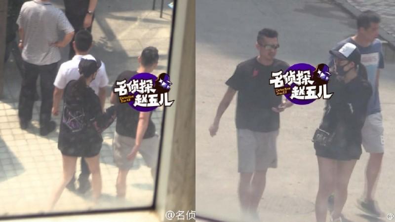 Lin Dan kepergok jalan bareng Zhao Yaqi