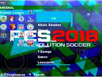 Download PES ARMY Mod PES 2018 ISO PSP For Android By Reza Kurniawan‎