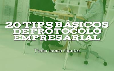 20 tips básicos de protocolo empresarial