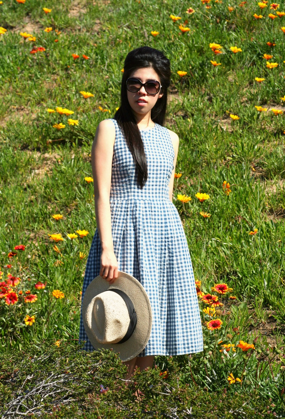 What I Wore Today_Day Dress_Gingham Spring Dress_Easter Dress_Adrienne Nguyen_Invictus