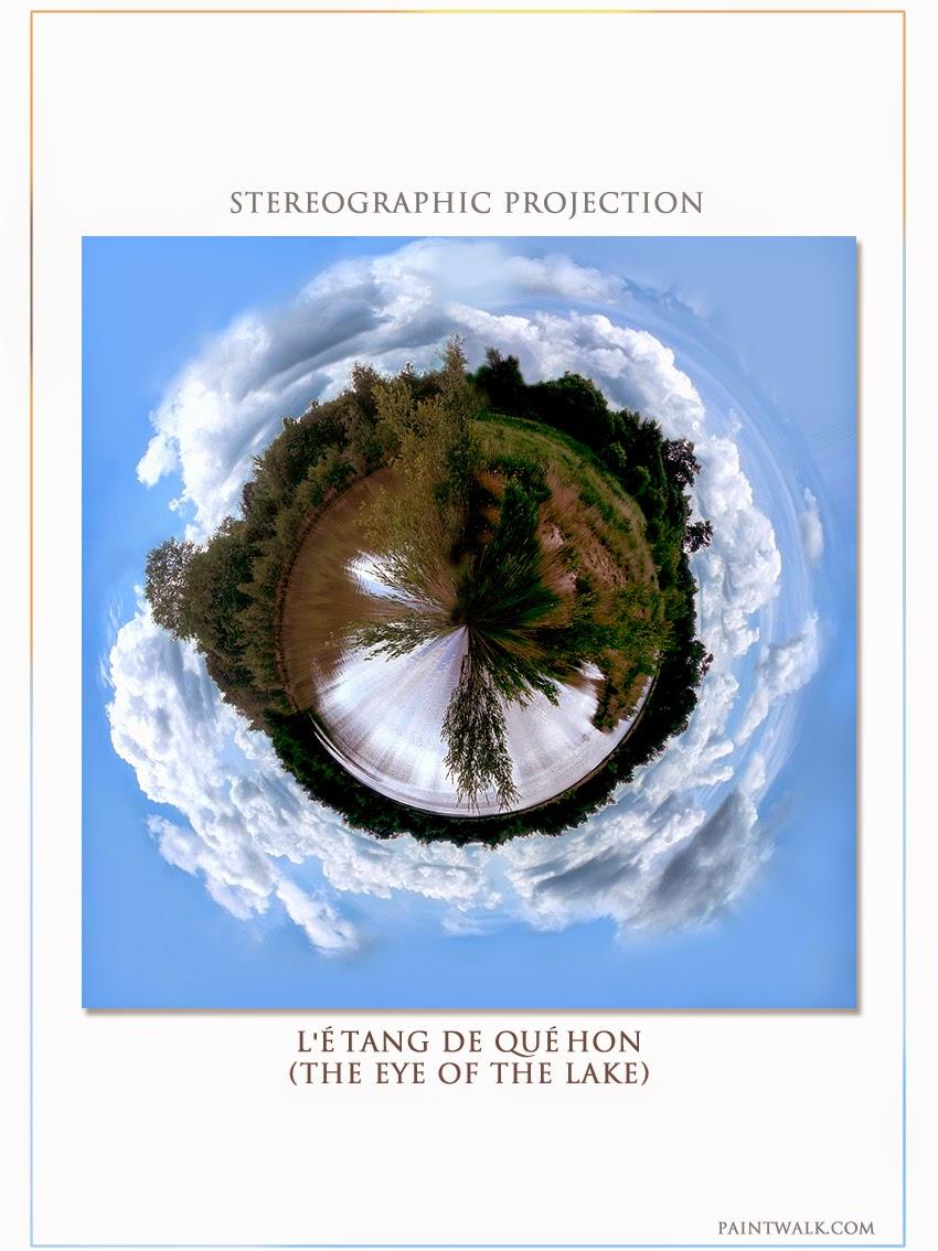 """""""The eye of the lake"""" l'étang de Quéhon"""