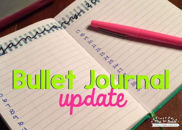 Bullet journaling is a great way to get all of your ideas down and in one place!