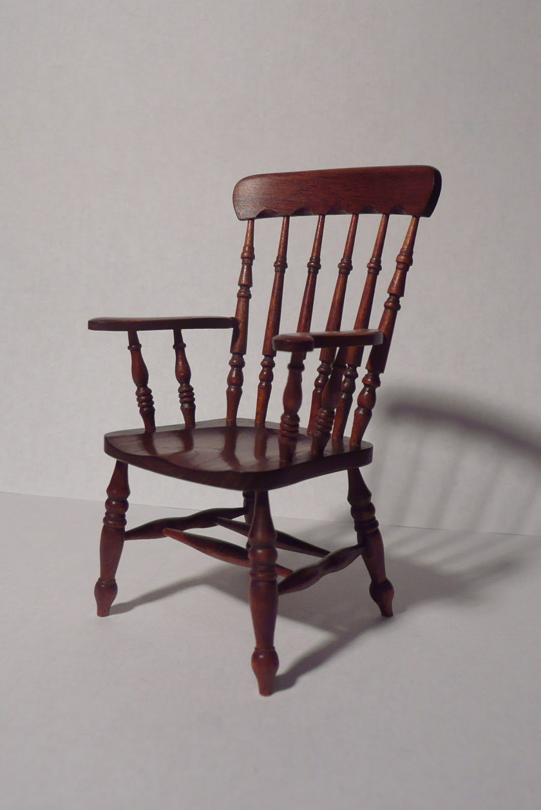 Spindle Arm Chair Office Very Amber 39s House Back By Colin Bird And