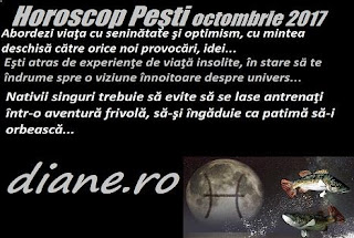 Horoscop octombrie 2017 Peşti