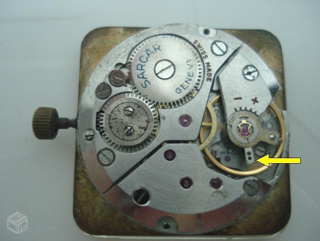d09020a2463 Essa é uma maquina de relógio de pulso.