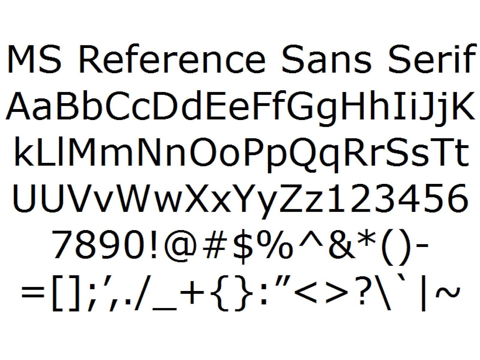Microsoft sans serif font fontzone. Net.