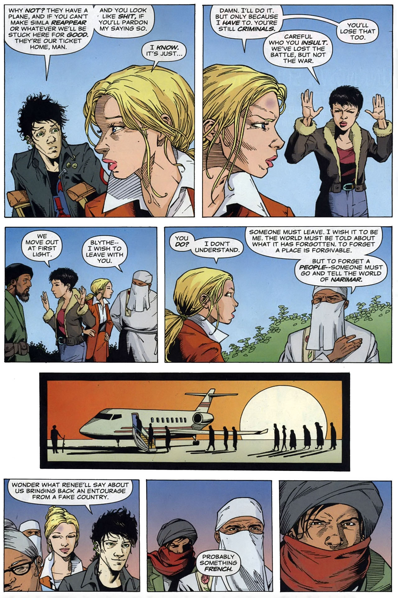 Read online Air comic -  Issue #3 - 19