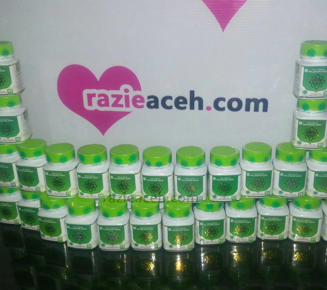 Razie Aceh Surabaya Kanza Jamu Majakani Nama Produk Traditional