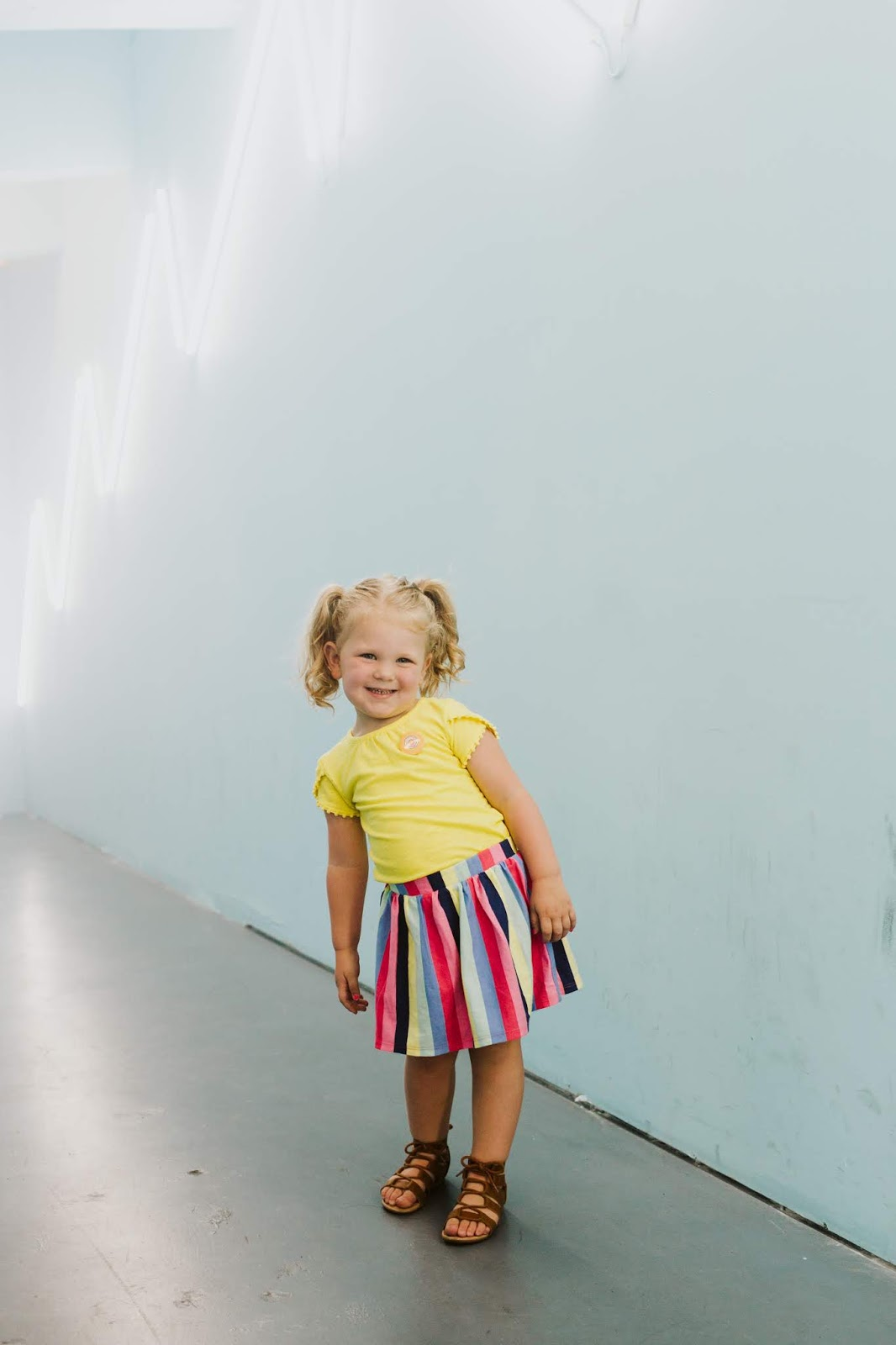 Toddler Style, Rainbow Skirt
