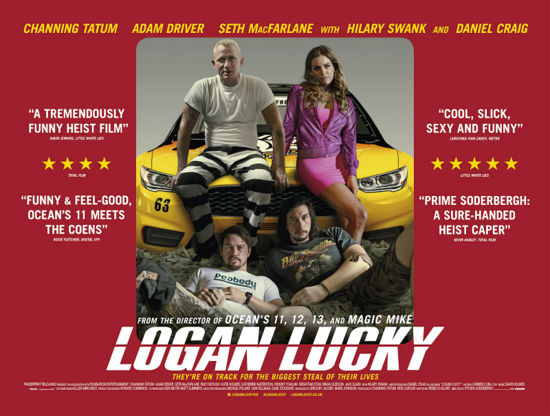 logan lucky uk poster