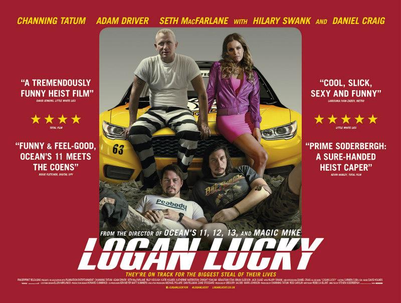 logan lucky uk poster