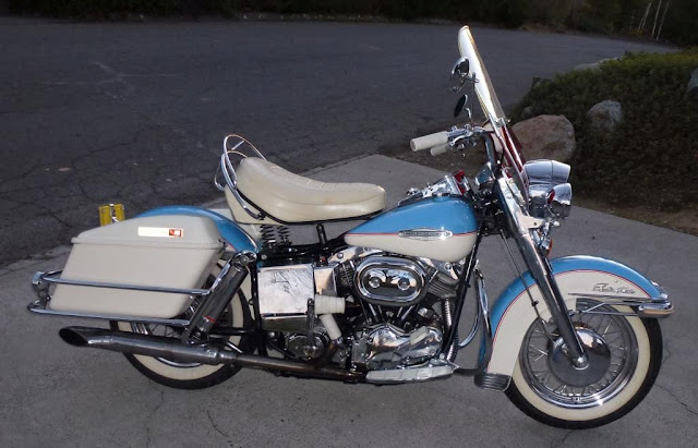 Harley-Davidson Electra Glide 1960s American classic motorcycle