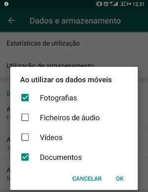 receber documentos via 3g no whatsapp