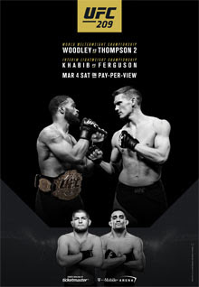 predictions for UFC 209 pay-per-view Woodley vs Thompson