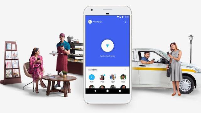 Google Tez App - UPI PAYMENTS APP