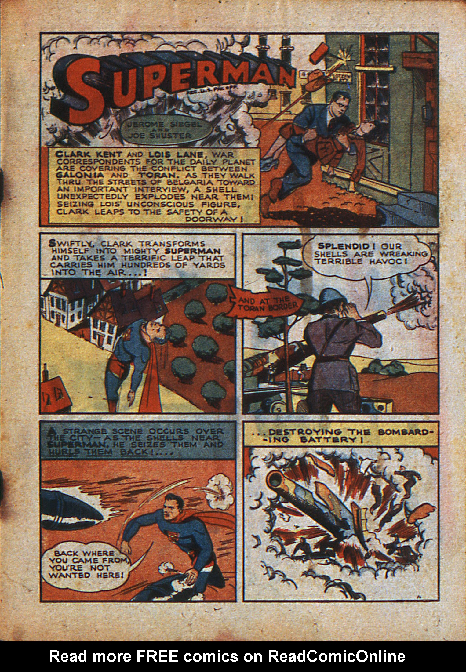 Read online Action Comics (1938) comic -  Issue #23 - 4