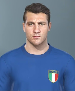 PES 2019 Faces Christian Vieri By DNA+I Facemaker