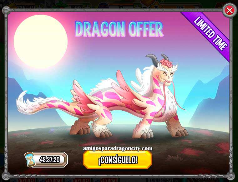 Dragon City Sakura Dragon