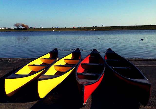 boats, canoe, lake, fairhaven, north west, blackpool, lytham st annes