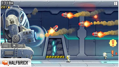 Download Jetpack Joyride MOD APK + DATA v1.9.32 Full HACK Android [Unlimited Coins] Update 2018