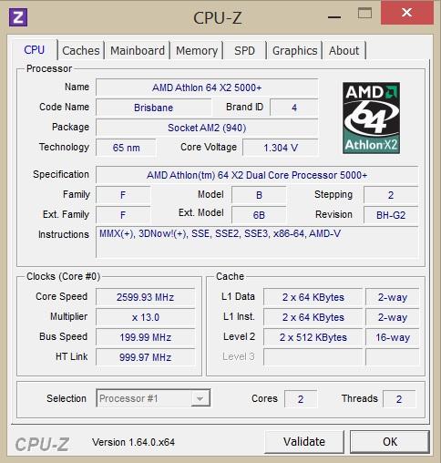 برنامج CPU-Z