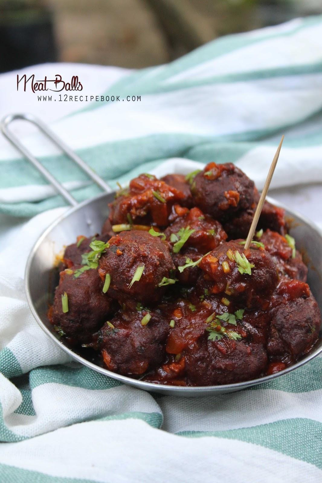 Meat Balls  Recipe Book