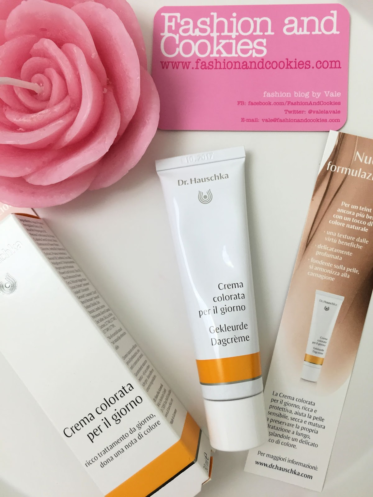 Dr. Hauschka tinted day cream new formula, crema colorata per il giorno, review on Fashion and Cookies beauty blog, beauty blogger