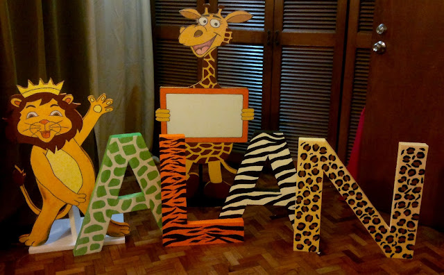 DIY Letter Standees Using Styrofoam and Acrylic Paint ...