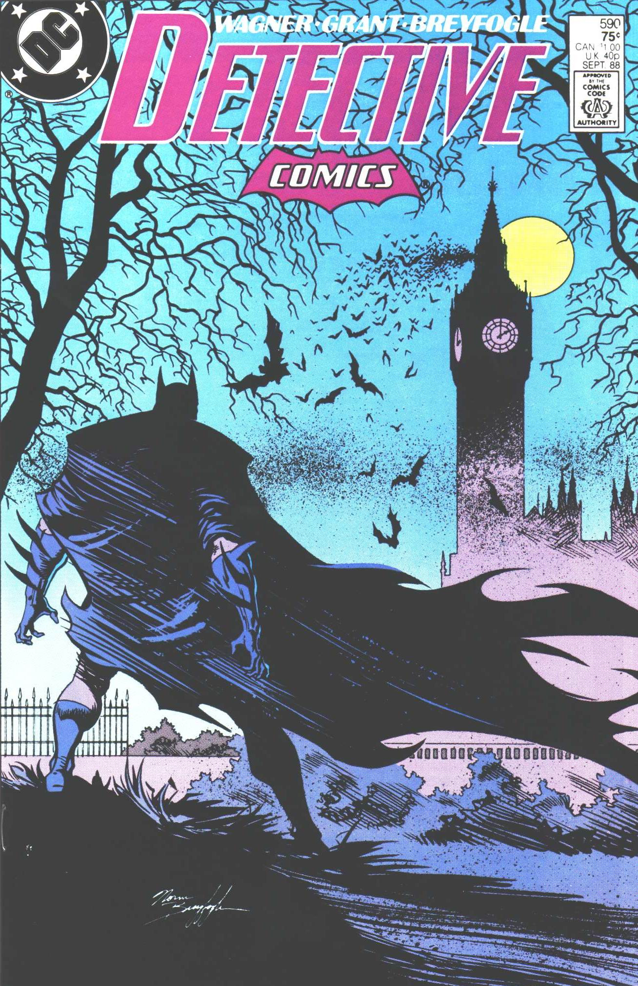 Detective Comics (1937) 590 Page 1
