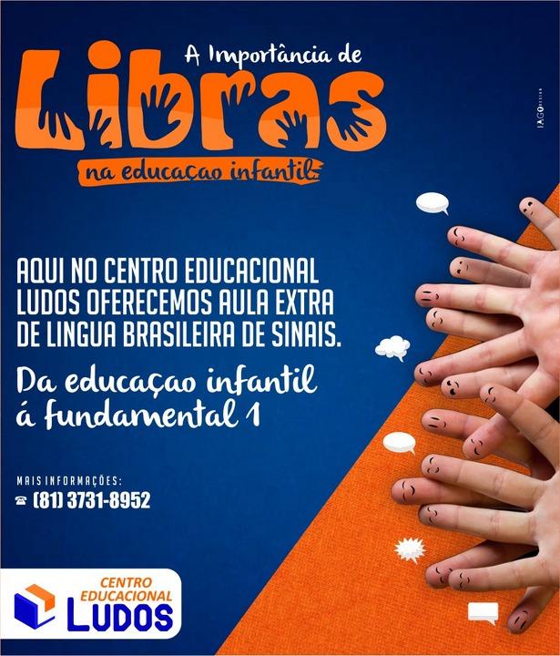 Centro Educacional Ludos terá aulas de Libras desde a Educação Infantil
