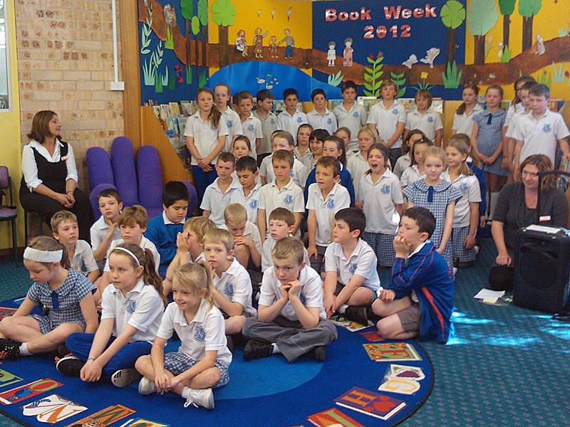 Heathcote East Public School Choir At Engadine Library