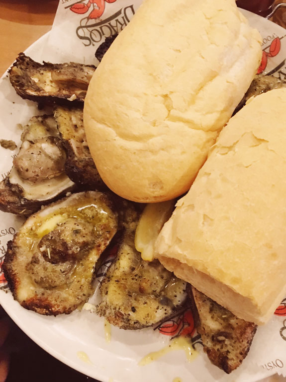 Where to Eat in New Orleans Drago's charbroiled oysters