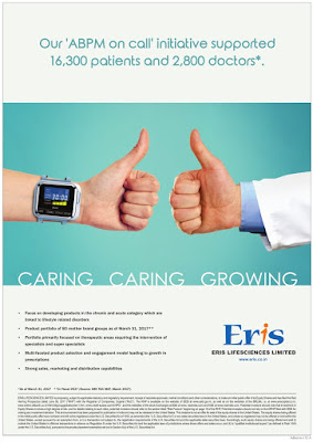 ERIS LIFE SCIENSES LIMITED