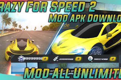 Download Crazy for Speed 2 Mod V 2.7.3935 Unlimited Money