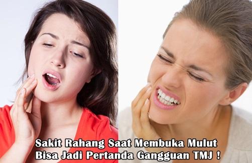 Rahang Sakit Saat Membuka Mulut ? Ini Cara Mengatasinya !