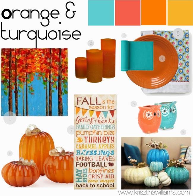 Orange Home Decor: Colorful Home Decor Palettes For Fall