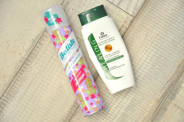 suchy szampon batiste pink pineapple, szampon do włosów catzy healing