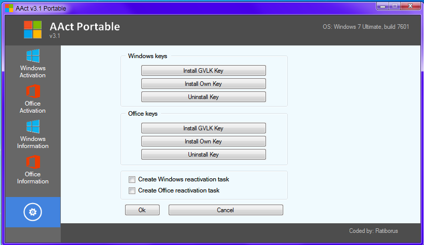 Download AAct 3 1 Portable Ativador ~ Insane Downs
