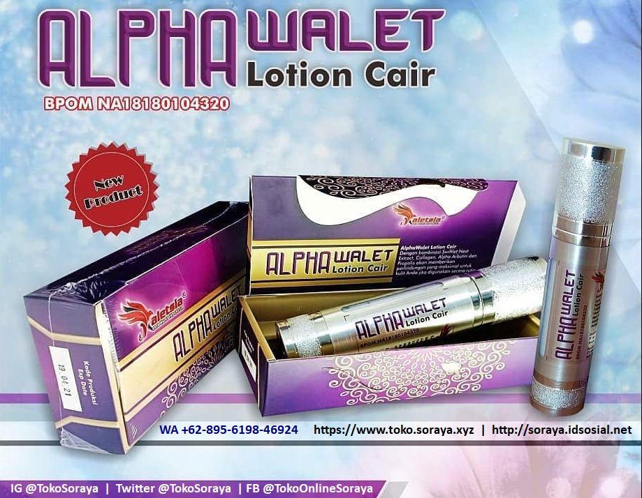 alpa walet lotion