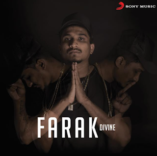 DIVINE reveals the cover image for his next single #FARAK