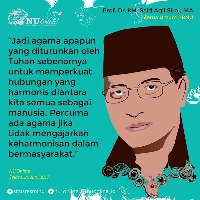 Kata Mutara Terbaru Prof. Dr. KH. Said Aqil Siroj, MA