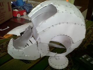 Casco de Iron Man para mi Hijo.....