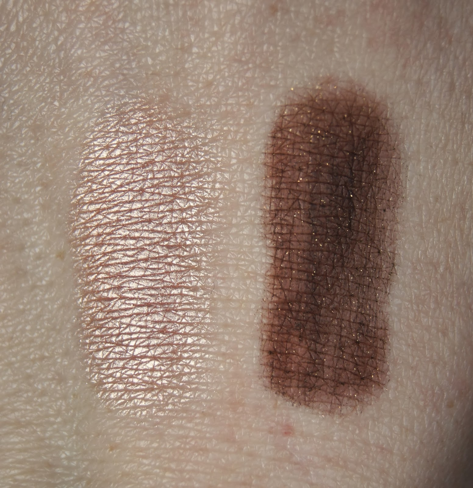 nars and god created the woman eyeshadow palette alhambra galapagos swatches