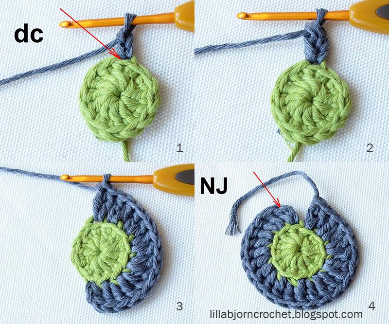 Circles of the Sun - CAL - Block 2 | LillaBjörn\'s Crochet World