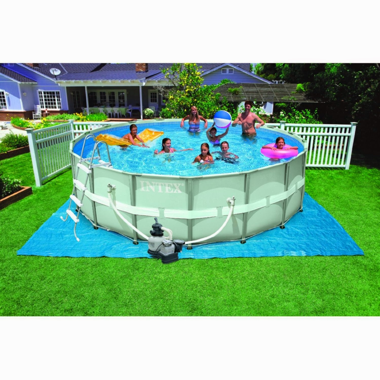 best seller intex pools reviews: intex ultra frame pools