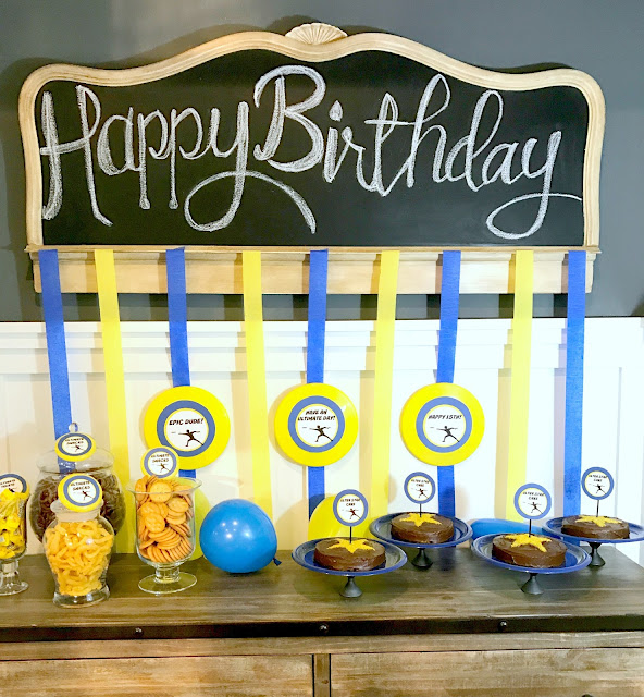 Ultimate Frisbee Party @michellepaigeblogs.com