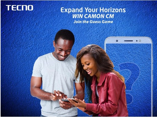 How to WIN BIG in The Tecno Camon CM #ExpandYourHorizons Guess Competition