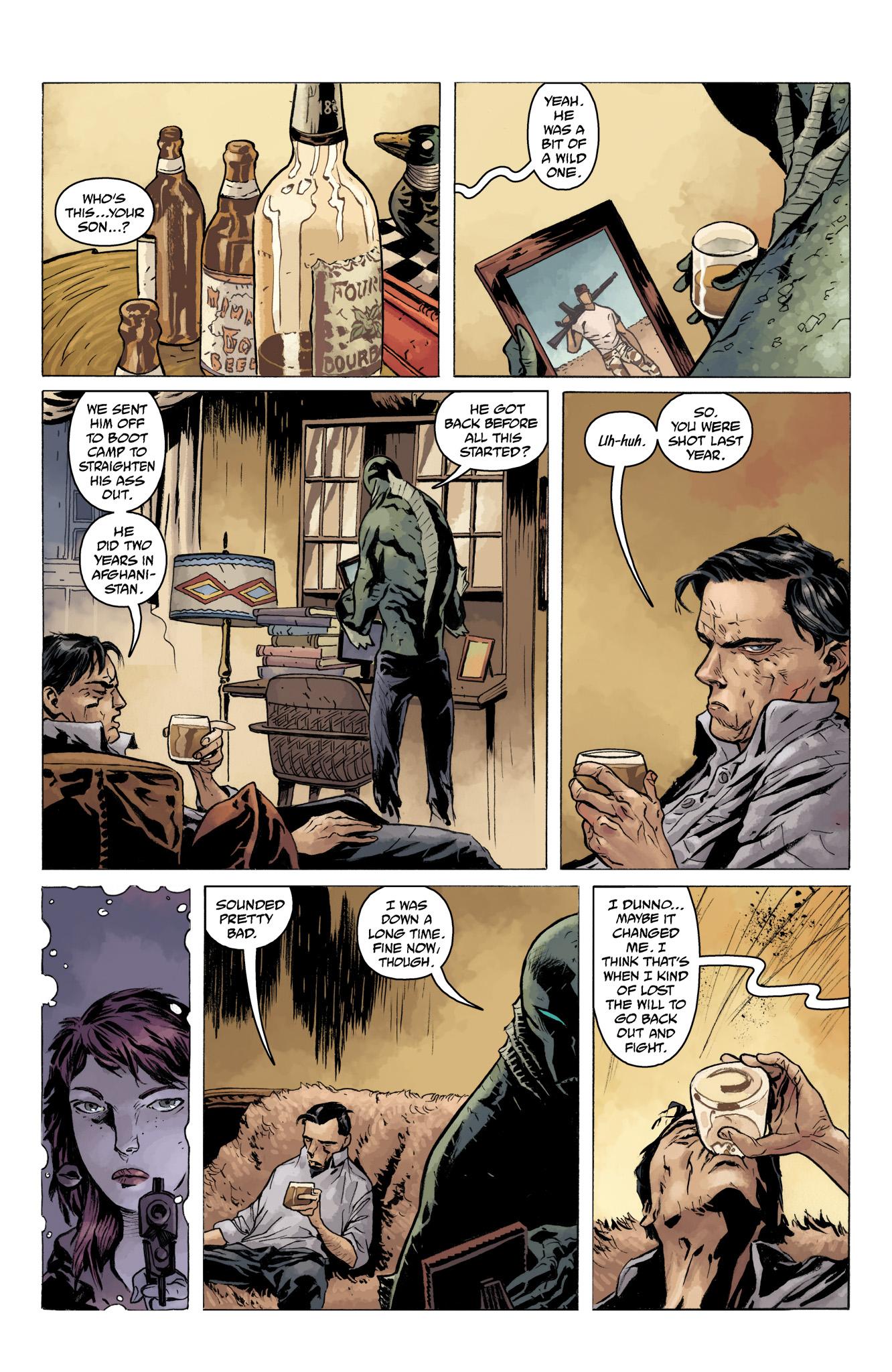 Read online Abe Sapien comic -  Issue #10 - 11