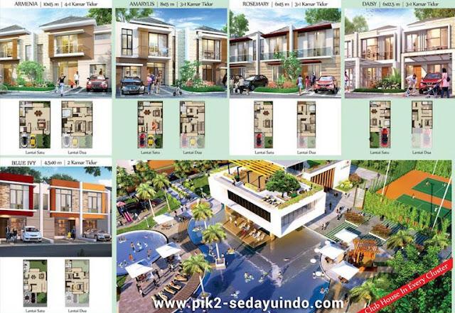 Rumah PIK2 Sedayu Indo City Cluster Atlanta